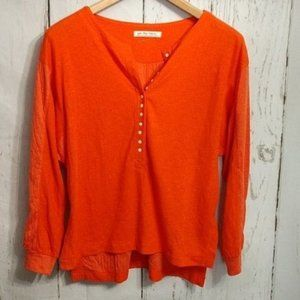 Free People We the Free Thermal Henley Top